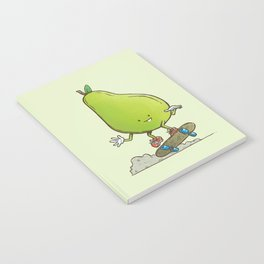 The Pear Skater Notebook