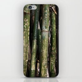 Bamboos in Maringá iPhone Skin