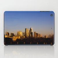 austin iPad Cases featuring Austin Skyline by Julia Goss Photography