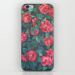 Camellias, lips and berries. iPhone Skin