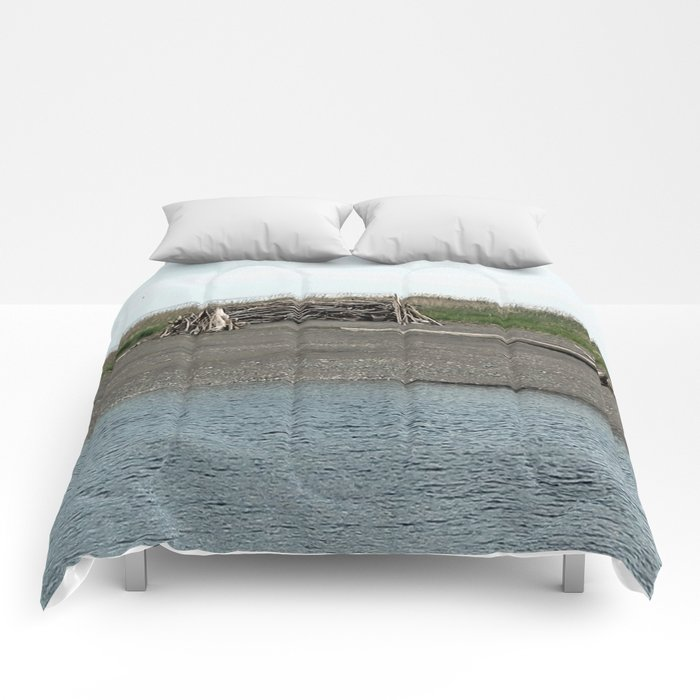 Driftwood River Camp Comforters