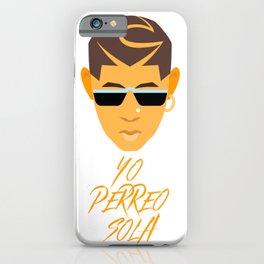 Bad Bunny Yo Perreo Sola. YHLQMDLG. Latina. El Conejo Malo. Reggaeton. Spanish. Latino. Trap Musica iPhone Case