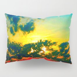 Curdled Clouds Pillow Sham