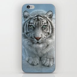 White Tiger - Wild Intentions iPhone Skin