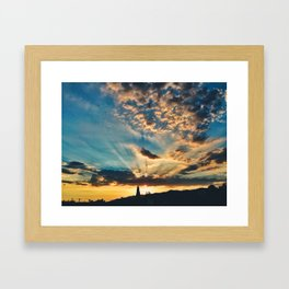 Sunray Framed Art Print
