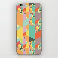 Pastel City iPhone & iPod Skin
