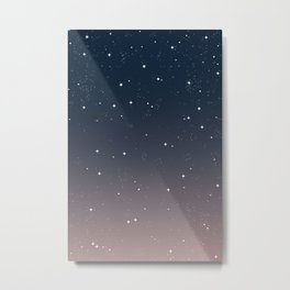 Keep On Shining - Peaceful Dusk Metal Print