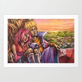 Calming Sunset Art Print