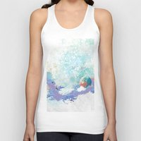 snail Tank Tops featuring Snail by ARTION