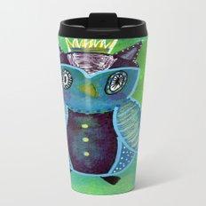 Quirky Bird 3 Travel Mug