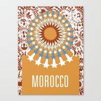 morocco Canvas Prints featuring Morocco by Corrie Bates
