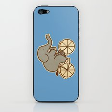 Elephant Cycle - colour option iPhone & iPod Skin