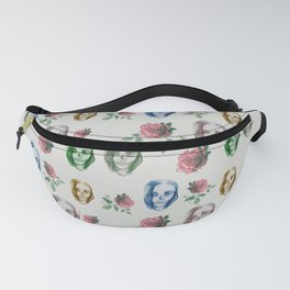 dead girl and roses Fanny Pack