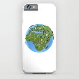 Data Earth iPhone Case