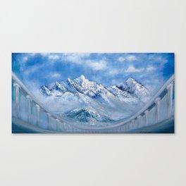 Himalayas. mountain landscape Canvas Print