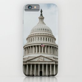 Capitol Hill | Colourful Travel Photography | Washington D.C., America (USA) iPhone Case