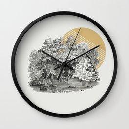 Hiding Place Wall Clock