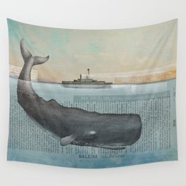 The whale Wall Tapestry