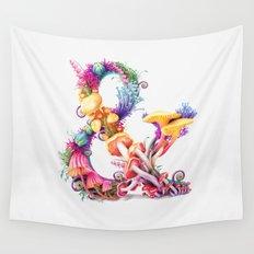 Mushrooms & Wall Tapestry
