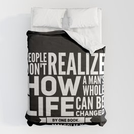Malcolm X One Book Comforters