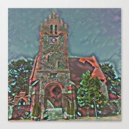 Liebenberg Church Mandalic Patchwork 2a Style Canvas Print