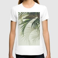VV II Womens Fitted Tee White SMALL