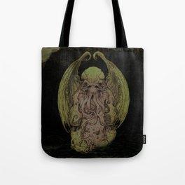 Cthulhu : Cosmic God Of Horror Tote Bag