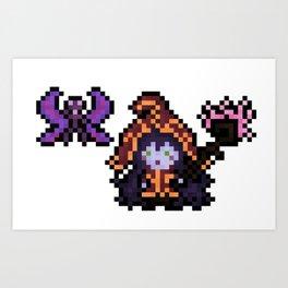 Lulu, The Pixel Sorceress Art Print