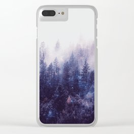 Misty Space Clear iPhone Case