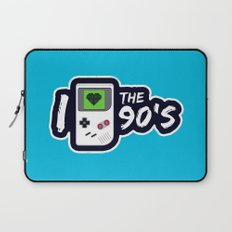 I Heart the 90's Laptop Sleeve