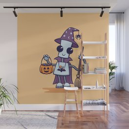 Ned's Halloween Witch Wall Mural