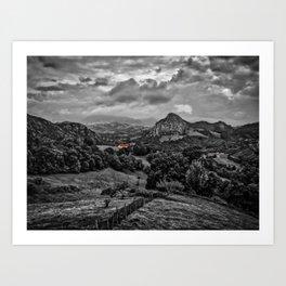 Picos de Europa, Spain Art Print
