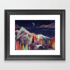 Sleep Framed Art Print