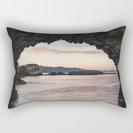 The Arch Rock Rectangular Pillow