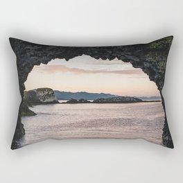 The Arch Rock Rectangular Pillow