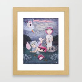 Escapism Framed Art Print