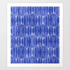 Dot Print - Periwinkle Art Print