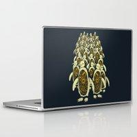 penguins Laptop & iPad Skins featuring penguins by Kiryadi