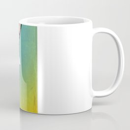 Life Expands quote Coffee Mug