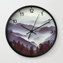 Upcoming Trip Into The Wild Wall Clock