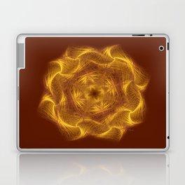 Spiritual art - Wheel of dharma Laptop & iPad Skin