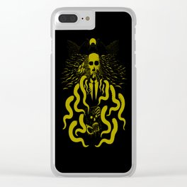 I Am Horror Clear iPhone Case