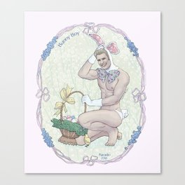Bunny Boy Steve Canvas Print