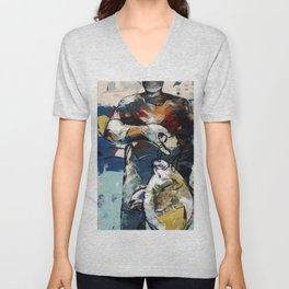 All that Fish can do Unisex V-Neck