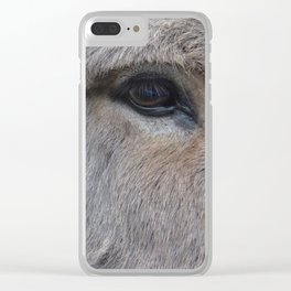 Donk-eye (I am so sorry for that) Clear iPhone Case