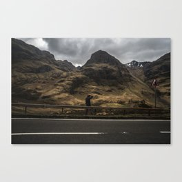 In his Element Canvas Print
