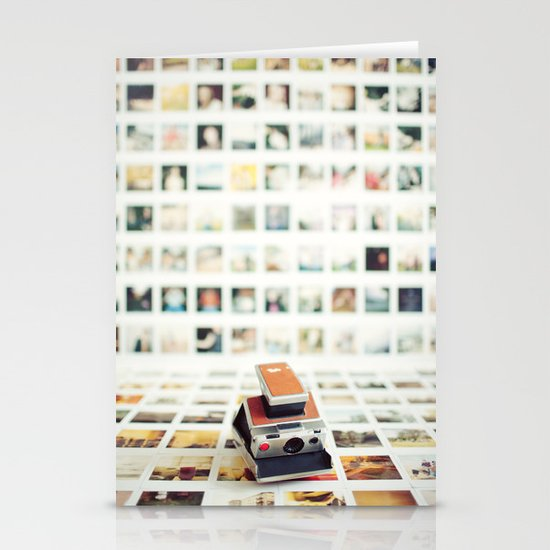 Polaroid Wall Stationery Cards