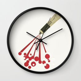 Foamy Wall Clock