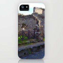 Pompeii Ancient Dwelling - 2 iPhone Case