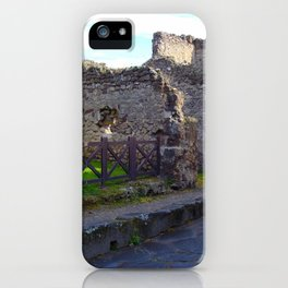 Pompeii Ancient Dwelling - 2 iPhone Case